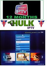 12 Mese Abbonamento Iptv GARANZIA + VOD MAG, SmartTV, M3U, ANDROID, VLC