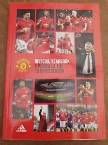Manchester United Official Yearbook A Review of The 2019/2020 Season Rare Book