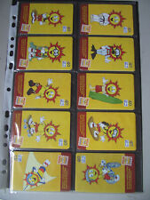 RADICAL SOLZINHO Complete Set of 10 Different Phone Cards from Brazil