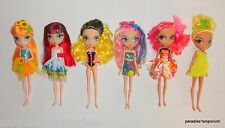 La Dee Da Doll Set Lot of 6 Dolls with Clothes Spin Master