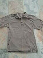 Life is Good Men's Short Sleeve Polo Golf Shirt Size L Brown Preowned