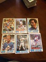 1982 Topps Baseball Kansas City Royals Team Set George Brett (25)