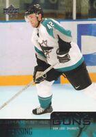 2003-04 Upper Deck Hockey #240 Tom Preissing YG RC San Jose Sharks