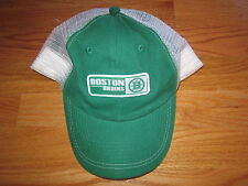 Old Time Hockey BOSTON BRUINS (Adjustable Snap Back) Mesh Cap GREEN