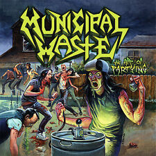 "Municipal Waste ""The Art Of Partying"" CD - NEW!"