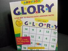 ADDITION GLORY BY GAMES FOR CHRISTIAN KIDS! NEW! MAKES LEARNING MATH FUN!