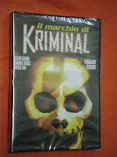 MARCHIO DI KRIMINAL-DVD-ORIGINALE-DI:FERNANDO CERCHIO- SIGILLATO-ingua italiano