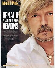 COUPURE DE PRESSE CLIPPING 2002 Renaud  SECHAN (3 pages)