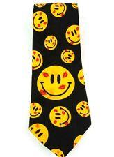 Addiction Brand Necktie   Smiley Face Themed