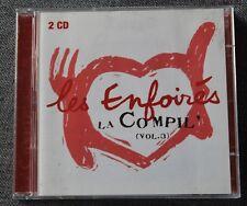 Les Enfoirés - restos du coeur, la Compil vol 3, 2CD