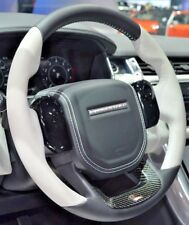 Range Rover Sport L494 SVR Cirrus Heated Steering Wheel With Carbon Fiber Trim