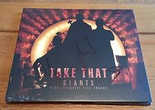 Take That - Giants 2 x Cd Set Signed Autographed