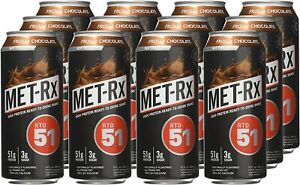 Met-Rx RTD 51 Frosty Chocolate 12 ct