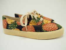 New NATURALIZER Vtg Pineapple Canvas Shoes 8.5