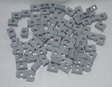********75 NEW LEGO LIGHT BLUISH GRAY TECHNIC BRICK 1 X 2, 1X2 WITH HOLE********