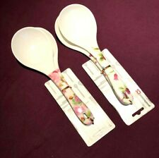 PACK OF 2 MELAMINE RICE WOK SPOON FOR COOKING STIRRING AND SERVING VARIOUS