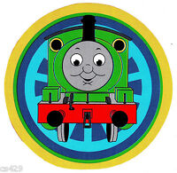 "2.5"" Thomas the train tank green blue peel & stick wall border cut out character"