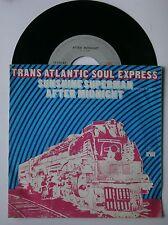 "7"" The Transatlantic Soul Express Sunshine Superman Dutch Funk Fusion 1975 Rare"