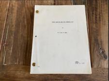 Butch Cassidy and the Sundance Kid Movie Script - William Goldman 1968