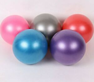 25cm Yoga Ball Exercise Pilates GYM Home Fitness Balance Ball AU