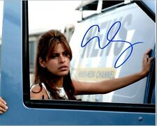 EVA MENDES Signed Autographed GHOST RIDER 8X10 Photo