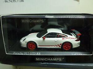 1/43 PORSCHE MINICHAMPS 911 GT3 RS