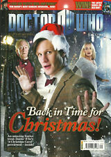 RARE Back Issue - DOCTOR WHO MAGAZINE #429 - MATT SMITH - Christmas With 4 Cards