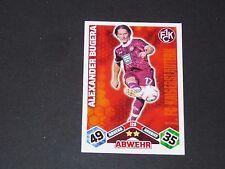 BUGERA 1.FCK KAISERSLAUTERN TOPPS ATTAX PANINI FOOTBALL BUNDESLIGA 2010-2011