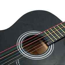 Acoustic Guitar Strings Guitar Music String One Set 6pcs Rainbow Colorful Color