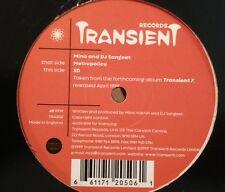 "MINO & SANGEET METROPOLICE 12"" 1999 Transient Hallucinogen Koxbox Psytrance Goa"