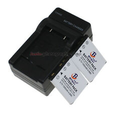 Mains Charger +2x Battery for FUJIFILM NP-45A NP45 XP10 XP11 J38 Z70 Z35 J40 J20