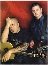 Aaron Lewis And Mike Mushok Of Staind Magazine  8x10 Photo Print