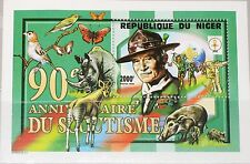 NIGER 1998 Block 112 975E Boy Scouts Pfadfinder Baden Powell Tiere Animals MNH