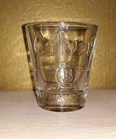 Calvert B shot glass. Shotglass.