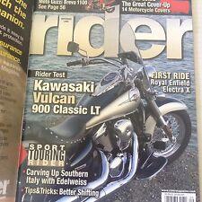 Rider Magazine Kawasaki Vulcan 900 Classic LT September 2006 060117nonrh2