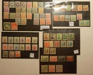 Sammlung 3 sowjetische Zone, postfr. und ungebr. mit Falz, Michel ca. 91€