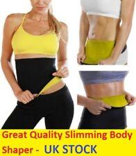 Thermo Sweat Hot Neoprene Body Shaper Slimming Waist Trainer Cincher Yoga Belt M