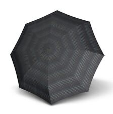 Knirps Smart & Casual Line Minimatic Light Taschenschirm Regenschirm Schwarz Neu