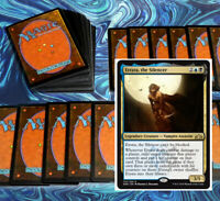 mtg BLACK BLUE ETRATA COMMANDER EDH DECK Magic the Gathering rare cards vela