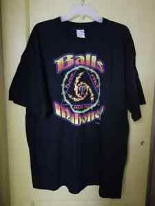 Balls Mahoney Blood Fire Barbed Wire T-shirt XL never worn