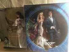 James Bond 007 Ken  Barbie Doll Loves Pop Culture 2002 & Octopussy Doll