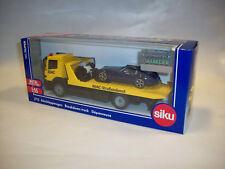 Siku 2712 - Abschleppwagen mit PKW - 1:55 - Gelb/Blau