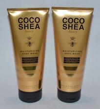 2 BATH BODY WORKS COCO SHEA HONEY MOISTURIZING BODY WASH SHOWER GEL SOOTHING