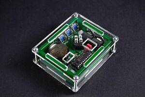 Cased Mini Memory Iambic A/B Morse key or keyer - Small in size BIG on features