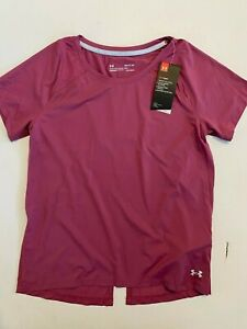 Under Armour New Iso-Chill RUN 200 T-Shirt Women's Small 1361926 MSRP $50
