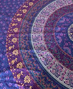 Plum and Bow Bohemian Multicolor Bohemian Mandala Tapestry Wall Hanging Decor