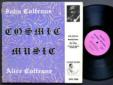 JOHN ALICE COLTRANE Cosmic Music LP COLTRANE CRS 5000 US 1968 Pharoah Sanders