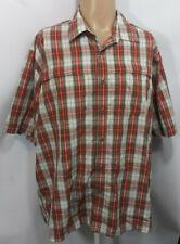 Wrangler Mens XL Shirt Plaid Western Button Up Rockabilly Mesh Cowboy