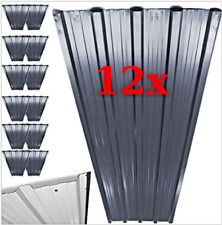 Metal Roof Sheets Corrugated Garage Shed Profile Galvanized Roofing 129x45cm 12x