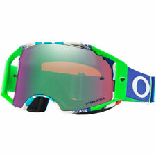 Oakley NEW Mx Airbrake Pinned Race Blue Green Prizm Motocross Goggles